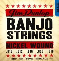 Струны Dunlop Banjo Nickel Wound Medium 10-23