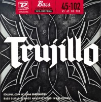 Струны Dunlop Trujillo Signature Custom Medium 45-102
