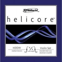 Струны DAddario Helicore/W Violin 4/4 Medium