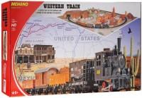 Автотрек / железная дорога MEHANO Western Train