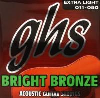 Струны GHS Bright Bronze 11-50