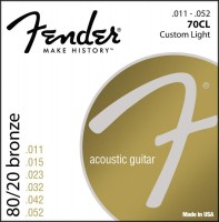 Струны Fender 70CL