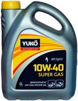 Моторное масло Yukoil Super GAS 10W-40 4L