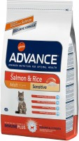 Фото - Корм для кошек Advance Adult Sensitive Salmon/Rice 3 kg