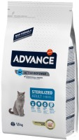 Фото - Корм для кошек Advance Adult Sterilized Turkey/Barley 1.50 kg