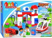 Конструктор JDLT Hospital 5172