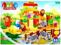 Фото - Конструктор JDLT Happy Zoo 5029