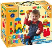 Конструктор Wader Middle Blocks 41520