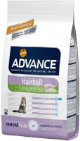 Корм для кошек Advance Adult Hairball Turkey/Rice 1.5 kg