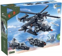 Конструктор BanBao 3 in 1 Military Helicopter 8488