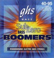 Струны GHS Sub-Zero Bass Boomers 40-95
