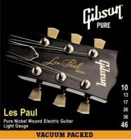 Струны Gibson SEG-LP10
