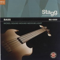 Струны Stagg Bass Nickel-Round 45-100