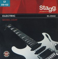Фото - Струны Stagg Electric Nickel-Plated Steel 9-42