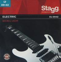 Струны Stagg Electric Nickel-Plated Steel 9-42