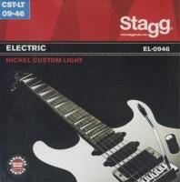 Фото - Струны Stagg Electric Nickel-Plated Steel 9-46