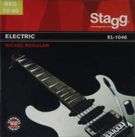Струны Stagg Electric Nickel-Plated Steel 10-46