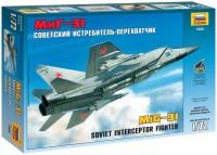 Сборная модель Zvezda MiG-31 (1:72)