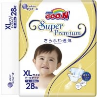 Подгузники Goo.N Super Premium XL / 28 pcs