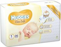 Подгузники Huggies Elite Soft 1 / 26 pcs