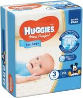 Фото - Подгузники Huggies Ultra Comfort Boy 3 / 20 pcs