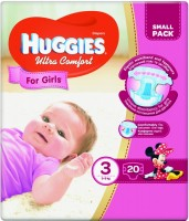 Фото - Подгузники Huggies Ultra Comfort Girl 3 / 20 pcs