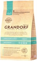 Корм для кошек Grandorf Adult Indoor 4 Meat/Rice 0.4 kg