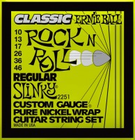 Фото - Струны Ernie Ball Regular Slinky Classic 10-46
