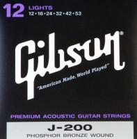 Струны Gibson SAG-J200L