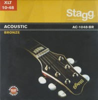Струны Stagg Acoustic Bronze 10-48