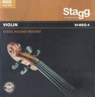 Фото - Струны Stagg Violin Steel Round Wound 3/4, 4/4