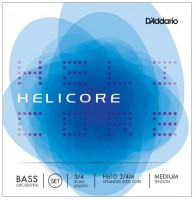 Струны DAddario Helicore Double Bass 3/4 Medium