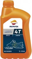Моторное масло Repsol Moto Snow 4T 0W-30 1L