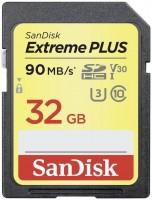 Фото - Карта памяти SanDisk Extreme Plus V30 SDHC UHS-I U3 32Gb