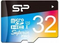 Фото - Карта памяти Silicon Power Superior Pro Color microSDHC UHS-I Class 10 32Gb