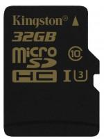 Фото - Карта памяти Kingston Gold microSDHC UHS-I U3 32Gb