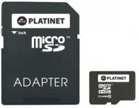 Карта памяти Platinet microSDHC UHS-1 Class 10 16Gb