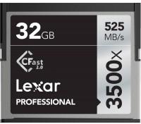Фото - Карта памяти Lexar Professional 3500x CompactFlash 32Gb