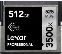 Фото - Карта памяти Lexar Professional 3500x CompactFlash 512Gb