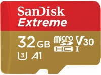 Карта памяти SanDisk Extreme V30 A1 microSDHC UHS-I U3 32Gb