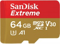 Карта памяти SanDisk Extreme V30 A1 microSDXC UHS-I U3 64Gb