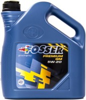 Моторное масло Fosser Premium GM 5W-20 4L