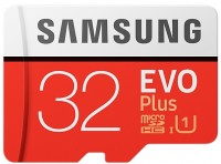 Фото - Карта памяти Samsung EVO Plus 100 Mb/s microSDHC UHS-I 32Gb