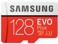 Карта памяти Samsung EVO Plus 100 Mb/s microSDXC UHS-I U3 128Gb