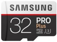 Карта памяти Samsung Pro Plus 100 Mb/s microSDHC UHS-I 32Gb