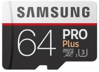 Карта памяти Samsung Pro Plus 100 Mb/s microSDXC UHS-I 64Gb