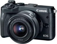 Фото - Фотоаппарат Canon EOS M6 kit 18-150