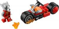 Фото - Конструктор Lego Worriz Fire Bike 30265
