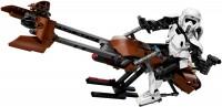 Фото - Конструктор Lego Scout Trooper and Speeder Bike 75532