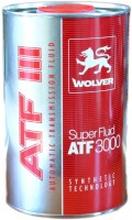 Трансмиссионное масло Wolver Super Fluid ATF 3000 1L